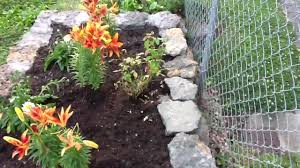 Raised Rock Garden Beds Raised Rock Flower Bed