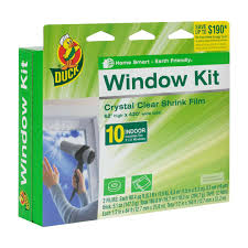 duck brand shrink film window kit indoor 10 pack walmart com