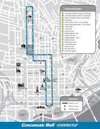 Map Of Cincinnati Design U0026 Route Streetcar