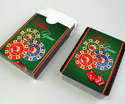 custom casino cards printing