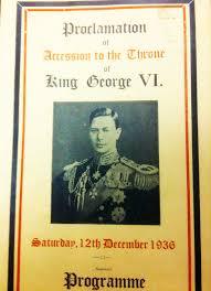 king george vi something uncommon