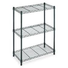 4 Tier Shelving Unit by Hdx 4 Shelf 54 In H X 36 In W X 14 In D Wire Unit In Black