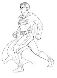 superman redesign sketch by atarial on deviantart