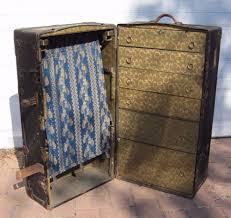 beautiful travel trunks wardrobe steamer trunk ebay