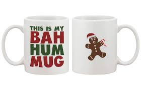 this is my bah hum mug cute christmas gift funny coffee mugs for holid