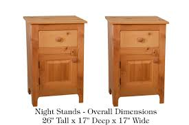 bedroom make your bedroom more cozy with tall nightstands for brown wooden tall nightstands with single drawer for