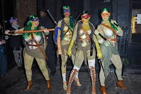 Teenage Mutant Ninja Turtles Halloween Costumes Girls Teenage Mutant Ninja Turtles U003d Coolest Group Costume Brit