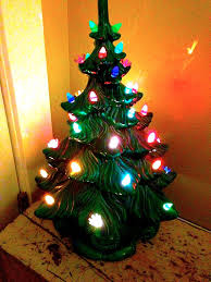 Vintage Atlantic Mold Ceramic Christmas Tree by Vintage Junk In My Trunk Etsy Project 2014