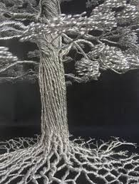 dense wire tree sculptures by clive maddison wire tree sculpture