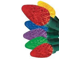 150 led c6 lights shop ge energy smart 150 count 49 6 ft constant multicolor c6 led