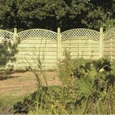 4 Ft Fence Panels With Trellis Fence Panels By Mick George