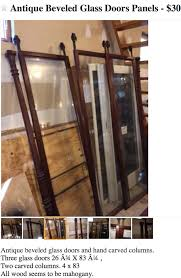 rustic glass kitchen cabinets repurposed kitchen cabinet from antique glass doors