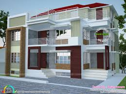 multi family plex home plan kerala design and floor plans idolza