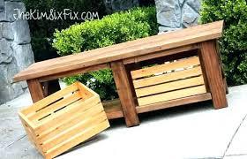 Patio Storage Bench Wooden Outdoor Storage Bench Australia Outdoor Storage Bench
