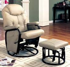 Burgundy Leather Chair And Ottoman Furniture Charming Burgundy Rocker Recliner Chair With Lumbar