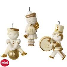 12 days of set of days 10 12 mini porcelain