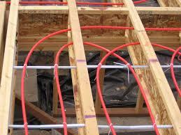Radiant Floor Heating Under Laminate Flooring Designing Radiant Floor Heating Systems Hydronic