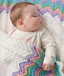rickrack rainbow baby blanket free easy pattern crochet love