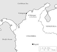 Columbia On World Map by Palenque De San Basilio In Colombia Genetic Data Support An Oral