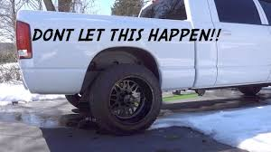 Wide Rims For Trucks Dont Let Your Wide Wheels Fall Off 10k Giveaway Youtube