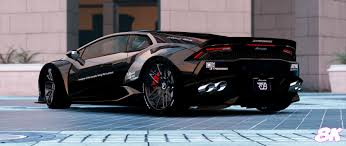 Lamborghini Huracan All Black - huracan liberty walk paintjobs 8k gta5 mods com