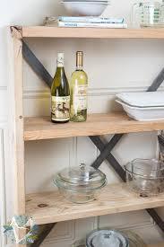 Pantry Shelf Industrial Farmhouse Pantry Shelf The Weathered Fox