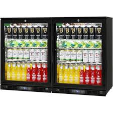black alfresco glass door bar fridge matching combination for indoors