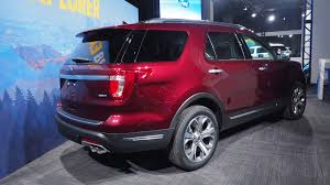 suv ford explorer 2018 ford explorer updates include more tech safety options