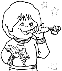 healthy lifestyle coloring pages to download and print for free