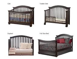 Convertible 4 In 1 Cribs Sorelle Vista Elite 4 In 1 Convertible Crib Espresso Babies R Us