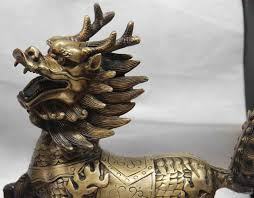 lion foo dog 2017 china bronze copper fengshui foo dog lion kirin