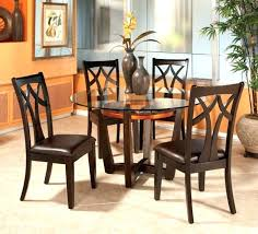 Glass Top Patio Dining Table Dining Table Bayside Brown All Weather Wicker Glass Top Patio