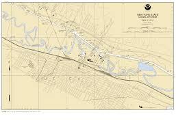New York Thruway Map by Navigation Information New York State Canals