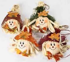 festive scarecrow ornaments vase fillers table scatters