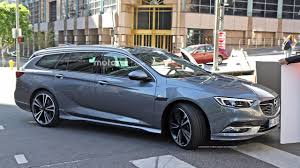 opel sedan 2017 opel insignia sedan and wagon break cover