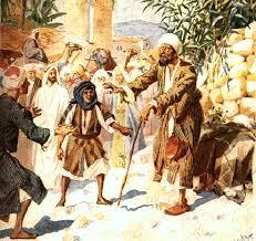 Bartholomew The Blind Man Vridar Blind Bartimaeus In The Gospel Of Mark Interpreted By