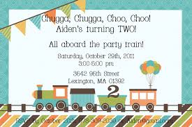 Get Together Party Invitation Card Train Birthday Invitations Templates