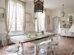 Modern Style Country Dining Room Decor French Country Decorating