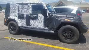 2018 jeep wrangler spy shots 2018 jeep wrangler spy shots photo gallery autoblog