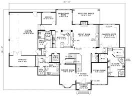 Contemporary House Floor Plan 142 Best House Plans Big Images On Pinterest House Floor