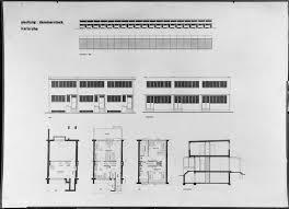 Row House Plans - housing development karlsruhe dammerstock 1928 1929 row house