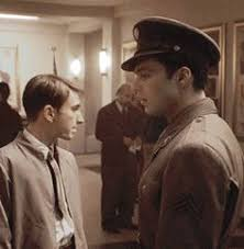image steve rogers and peggy carter face to face bucky barnes