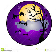 halloween night bats clip art royalty free stock images image