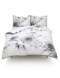 botanical print bedding set m u0026s