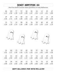 images about free halloween worksheets on pinterest math printable