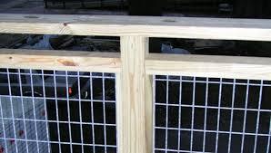 metal fencing railing deck railing ideas
