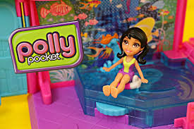 polly pocket toys pool polly pocket swim house dolls disneycartoys