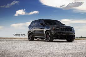 jeep srt matte black velgen wheels meets cherokee srt8 jeep velgen wheels