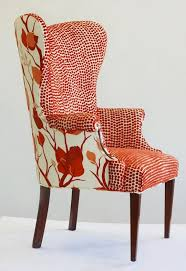 Upholstered Chairs Sale Design Ideas Chair Frumpy Chairs Get A Tribal Fabric Makeover With