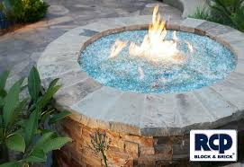 Fire Pit Glass by Photo Gallery Outdoor Fire Pit Idea Gallery